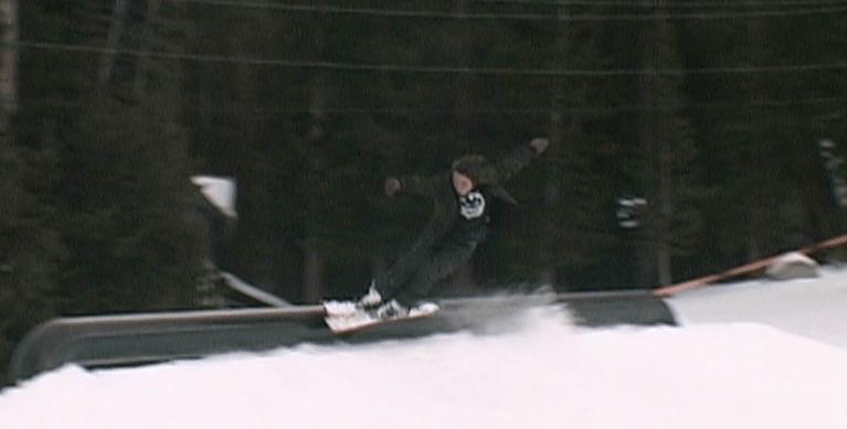slappy on skis?