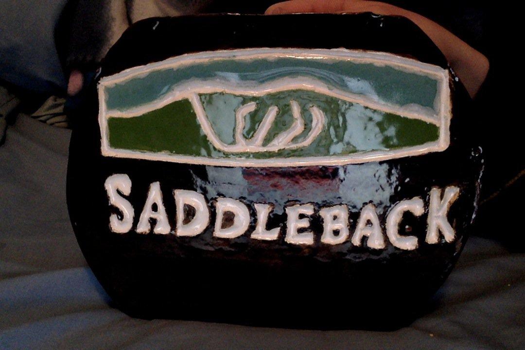 Saddleback clay tile.