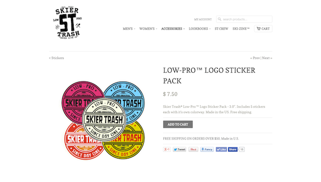 NEW Low-Pro Stickers In Stock!