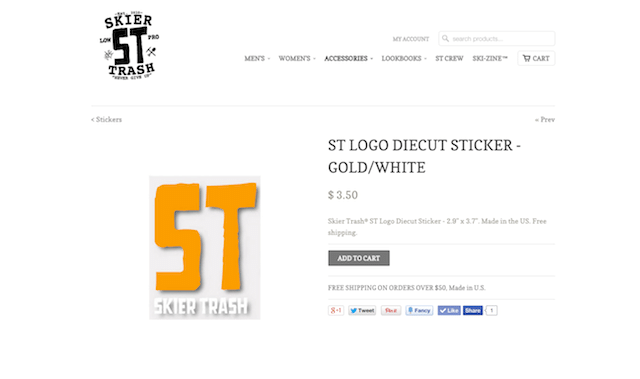NEW ST Logo Diecut Stickers Available Now!