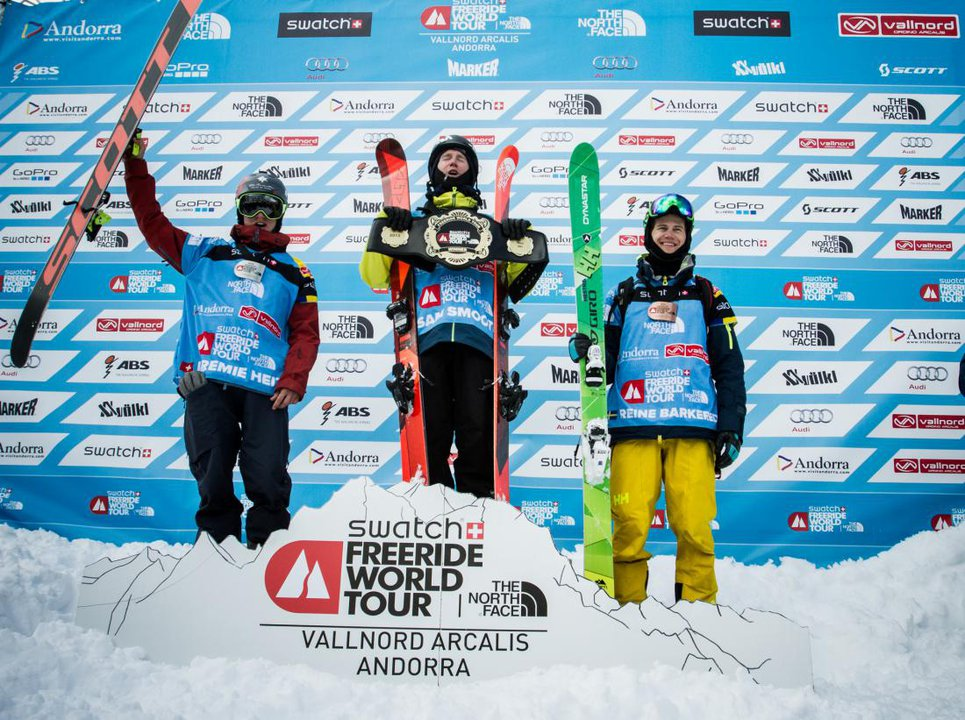 Freeride World Tour Andorra Results