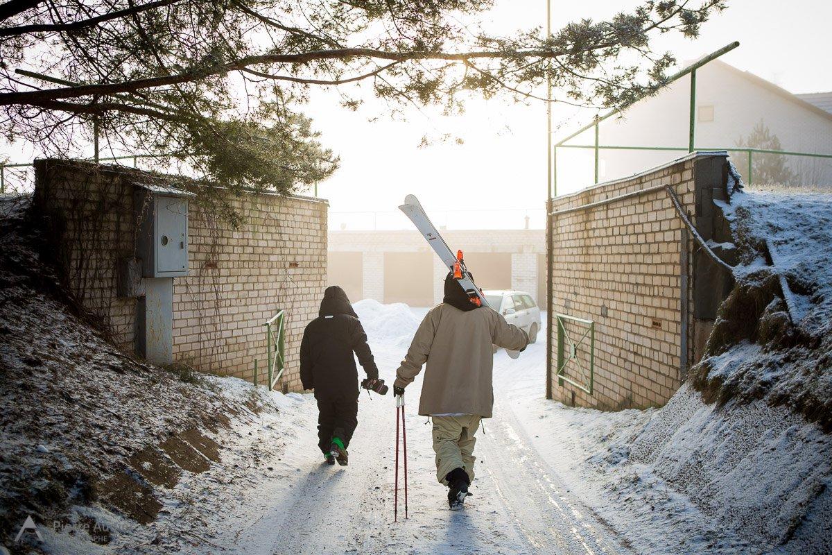 Morning walk in Estonia.
