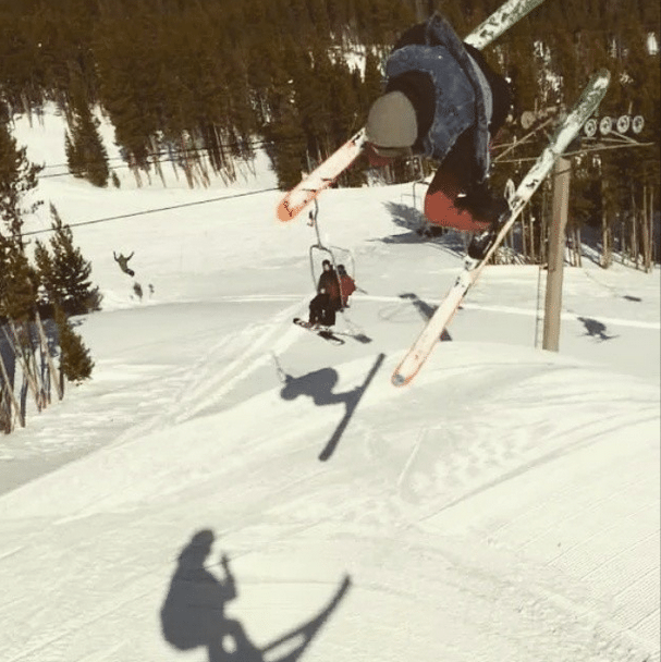 Skier Trash Speedy Pete