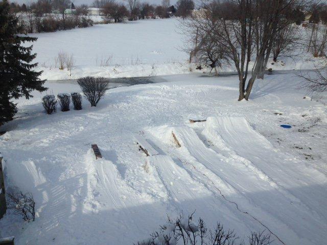 Backyard terrain setup