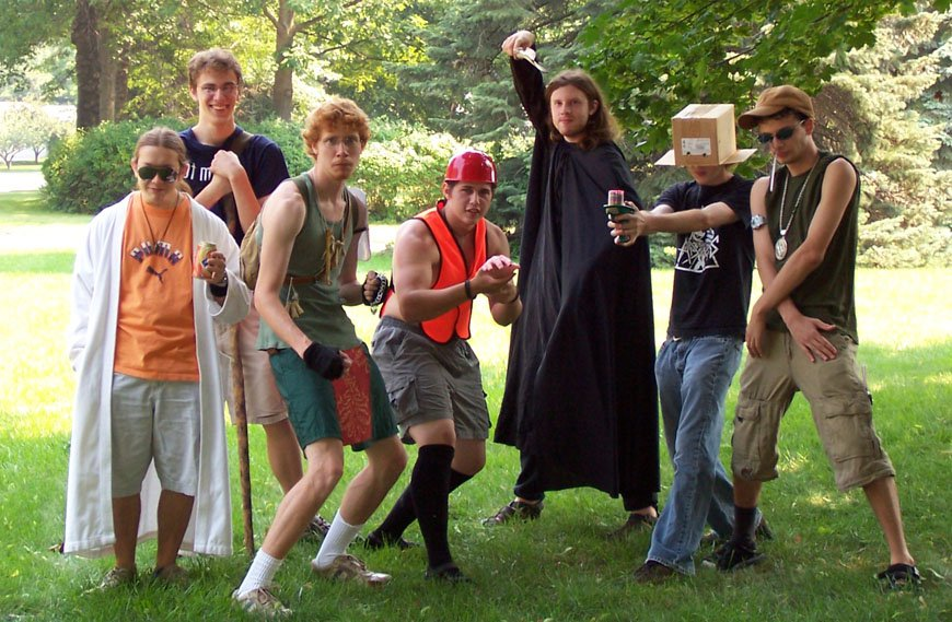 When you and ur squad looking fresh af