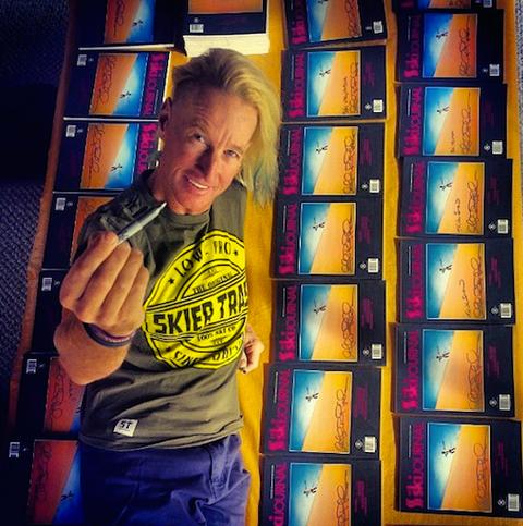 Skier Trash OG Glen Plake Signing Cover Shots