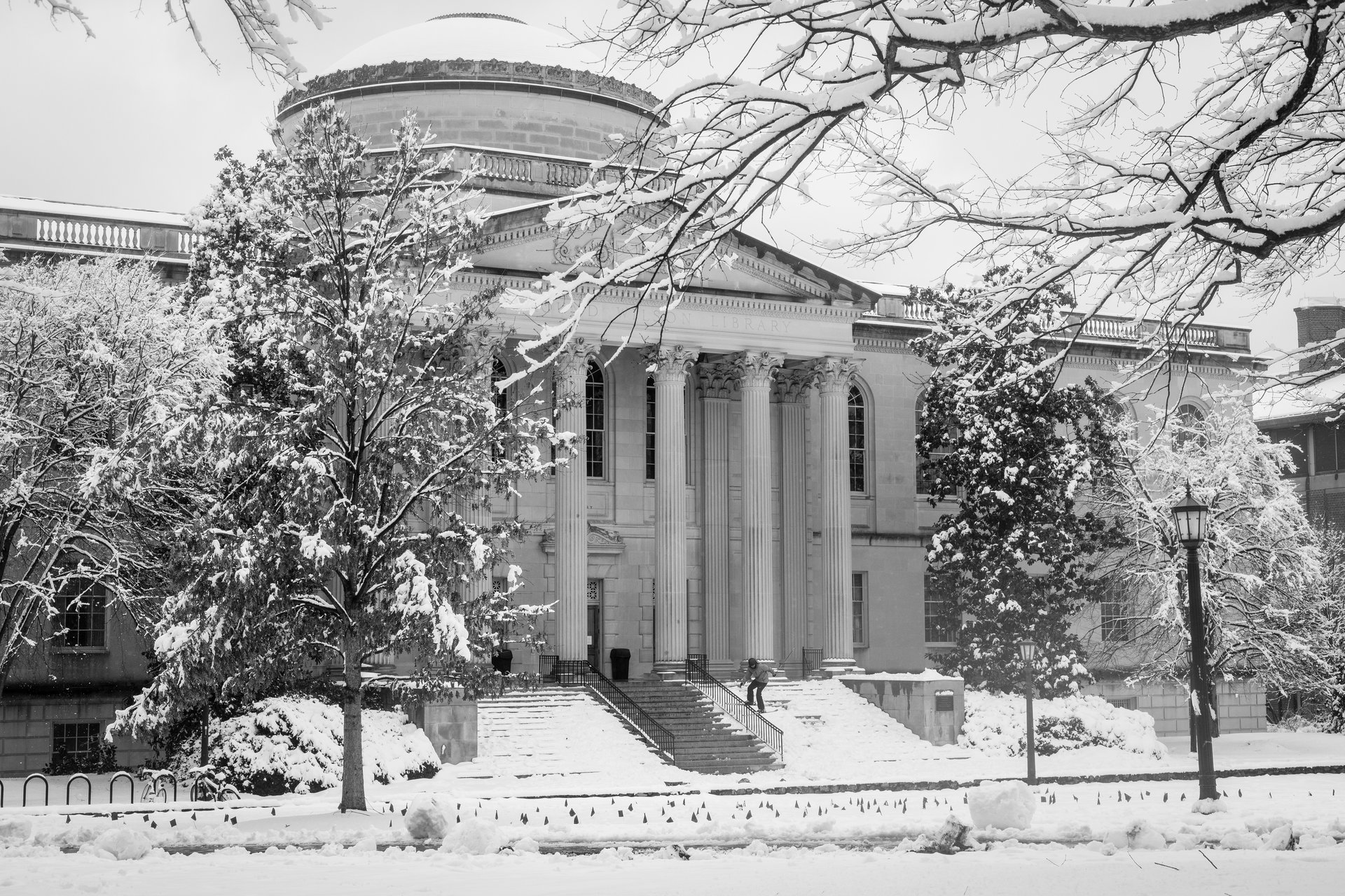 Snow Day at the University of North Carolina
