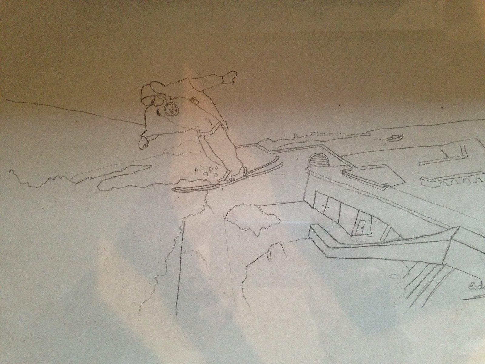 Oil&Water doodle