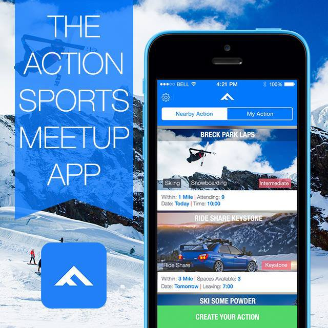 Flixtreme: The Action Sports Meetup App
