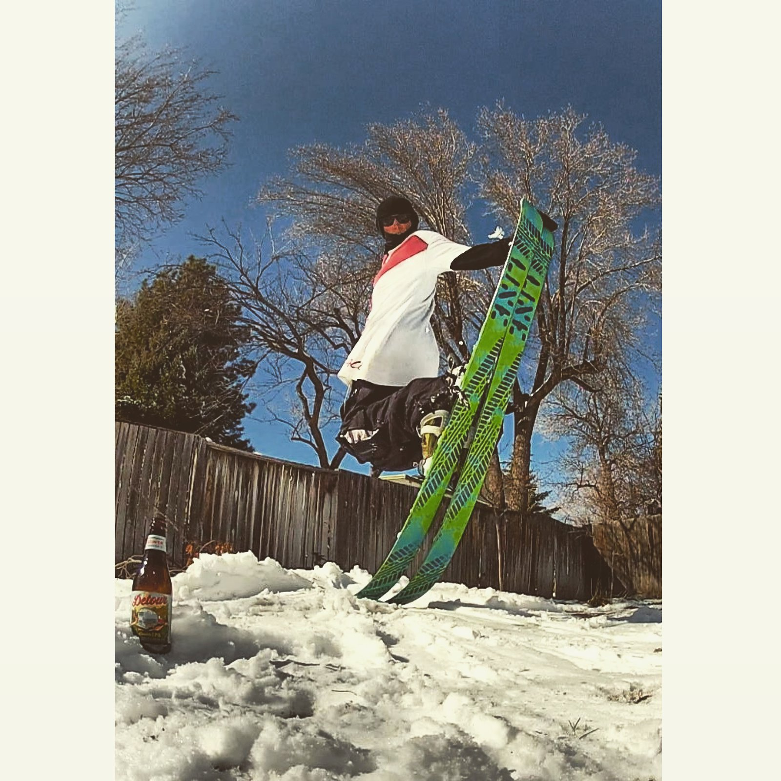 REAL skiing in REAL backyards