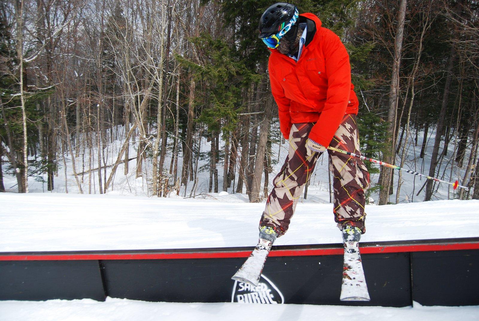 ski slide