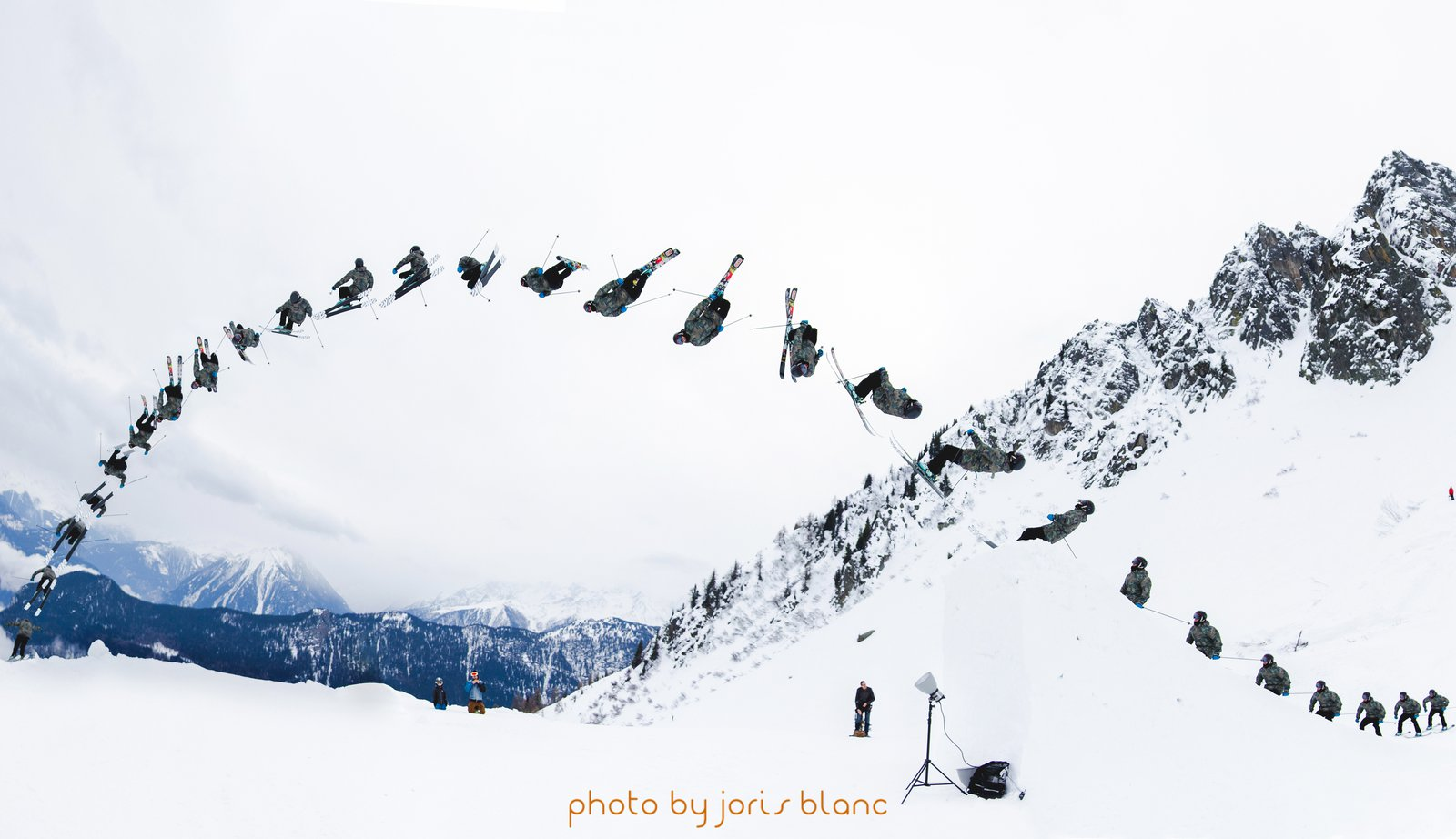 Double Backflips des Famillies// Camille Germann