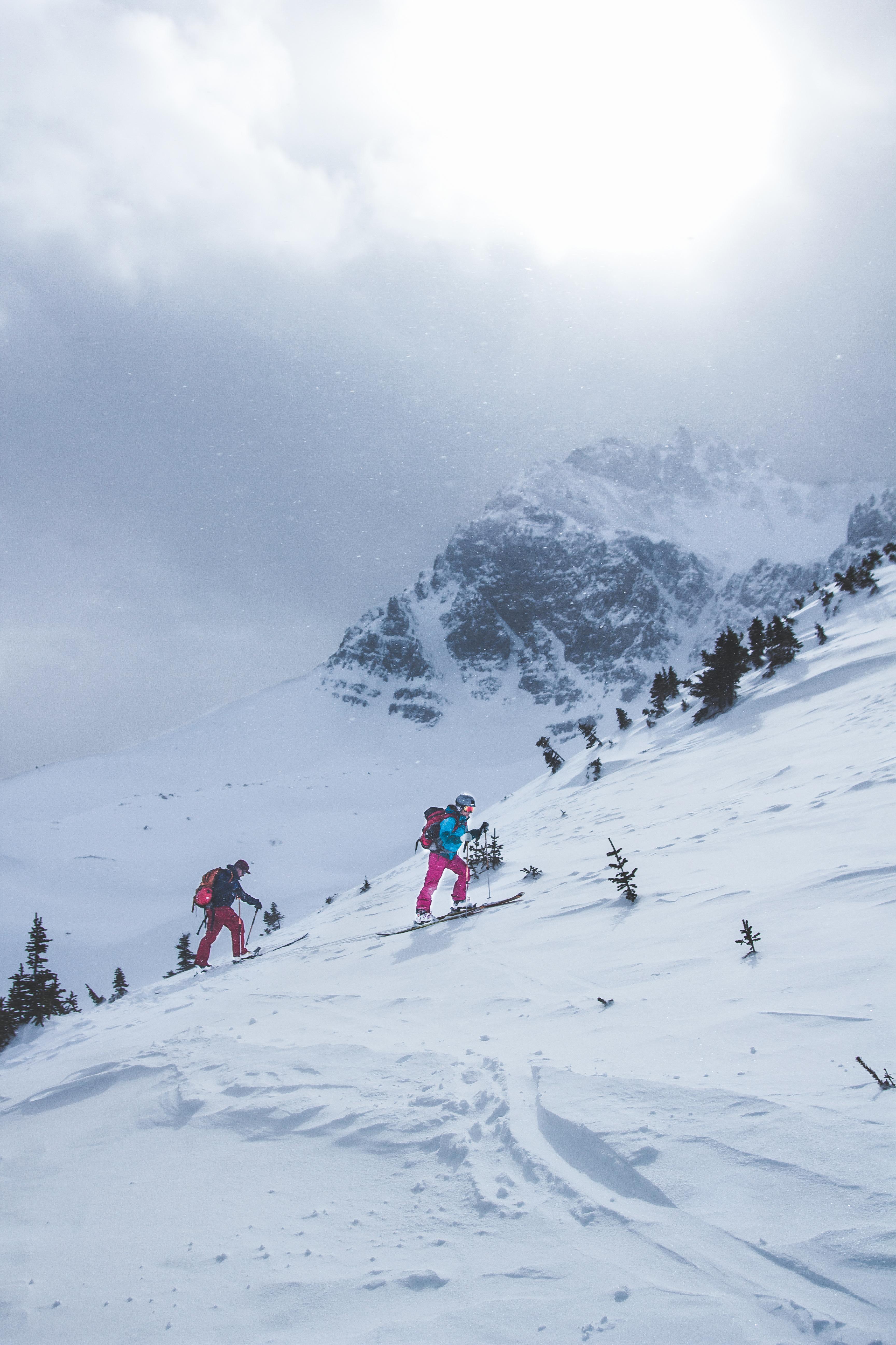Skier Traverse