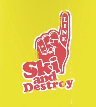 #skianddestroy