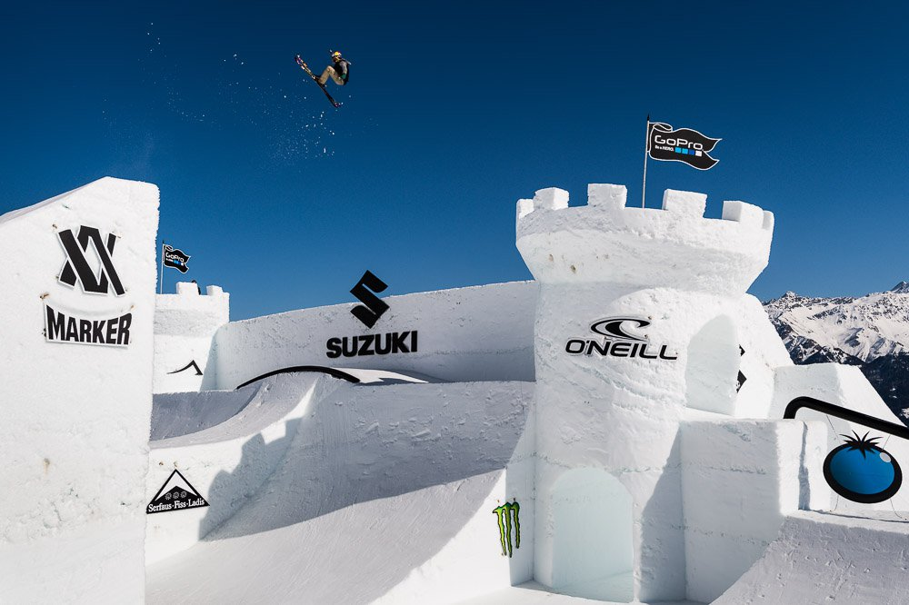 Lisa Zimmerman wins Big Air contest at Suzuki Nine Queens 2015