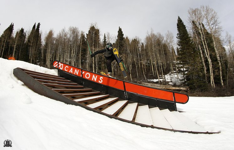 Backslide on Canyons Stairset