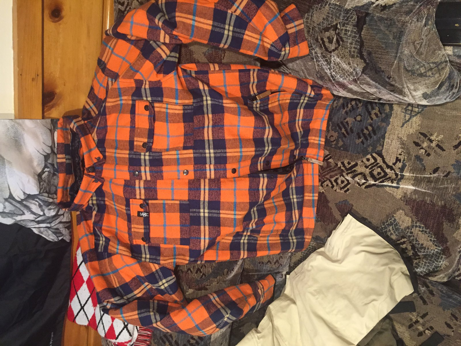 XXL Saga Riding Flannel