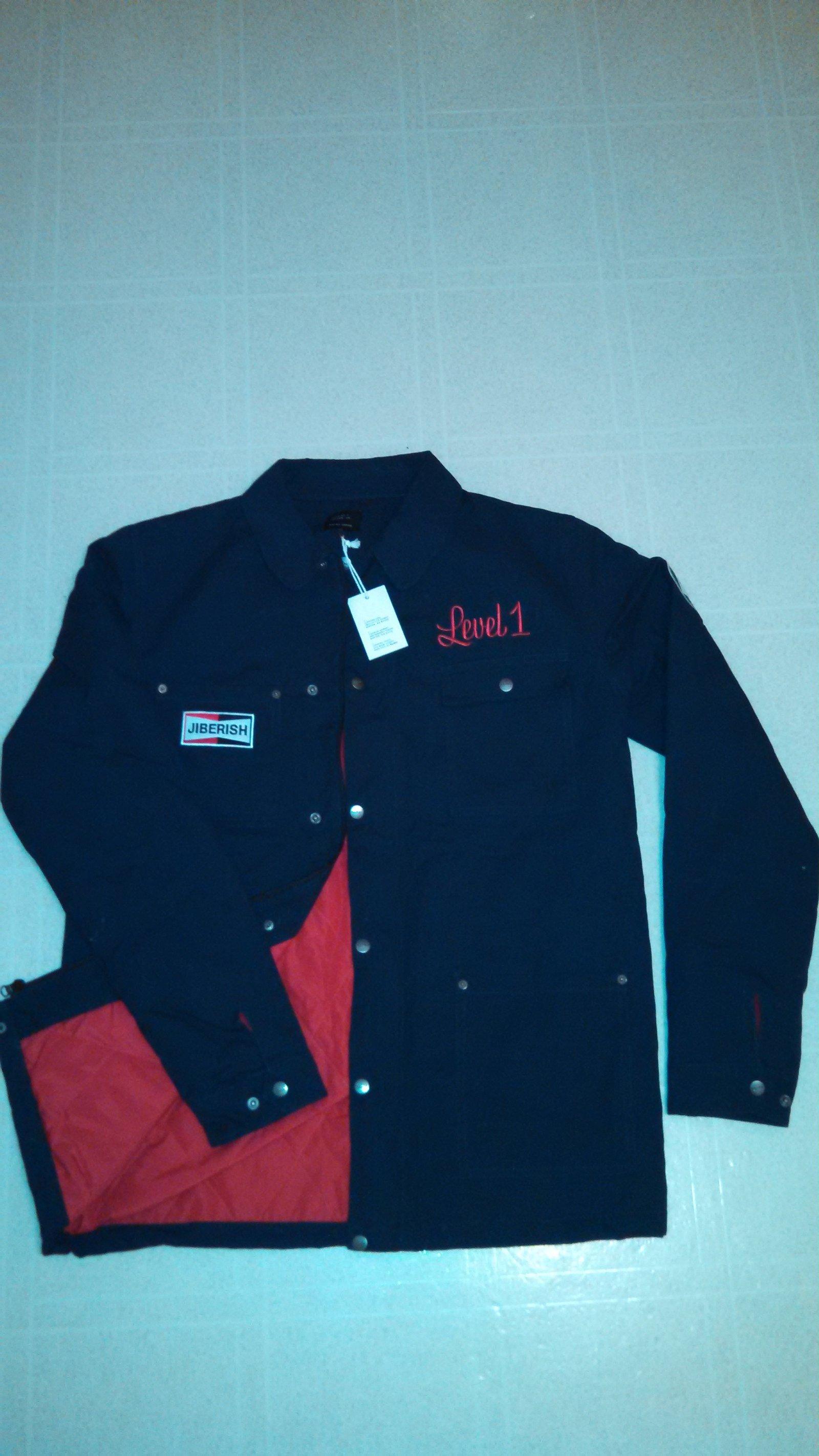 iberish x Level 1 Work Coat, Navy, XL