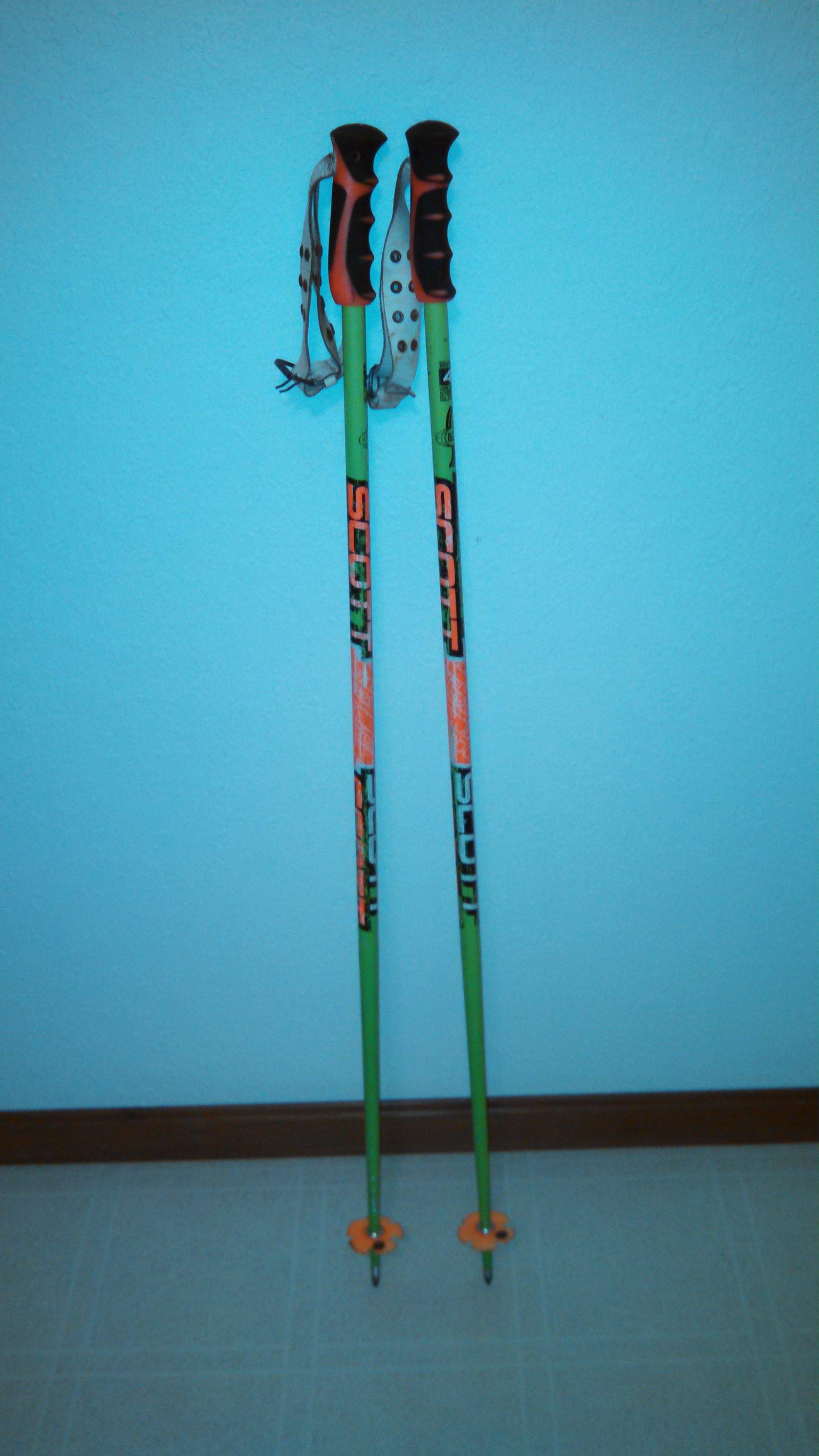 "For SALE: Scott Team Poles, 44"""