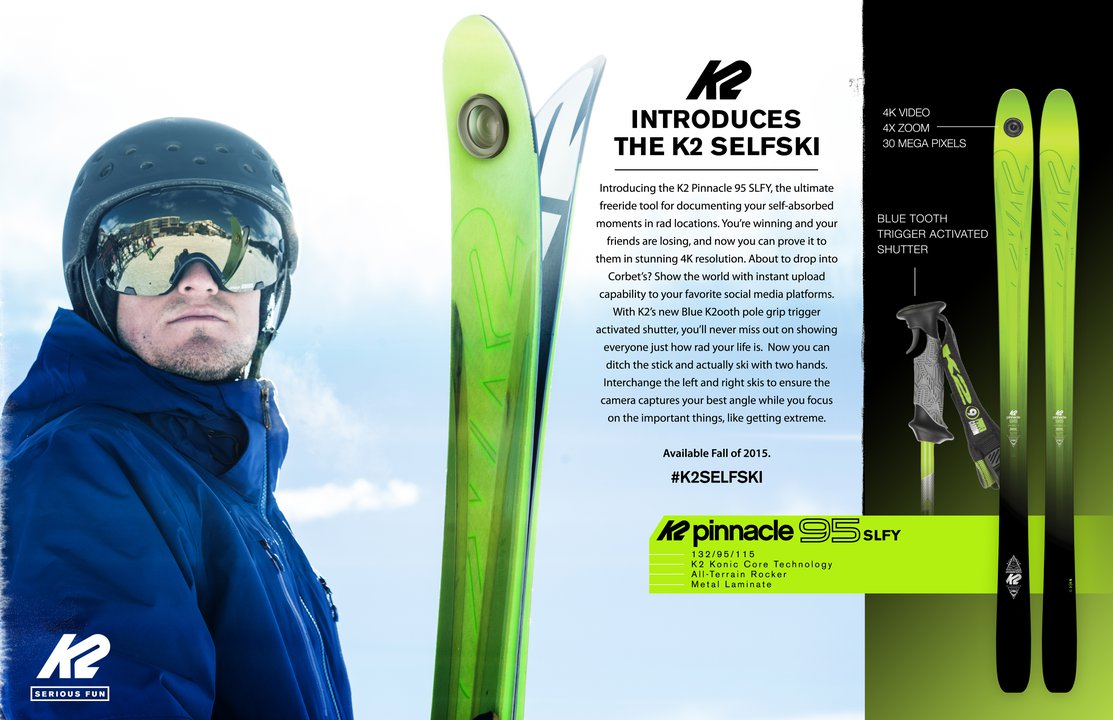 The Future is Here: K2 SelfSki