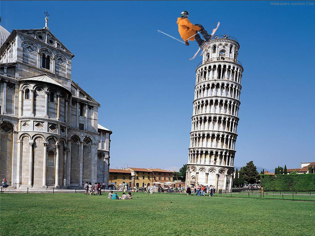 Leaning Tower Stall
