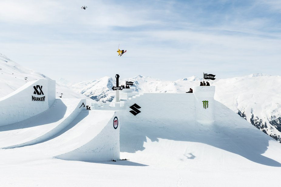 Luca Schuler  wins Suzuki Nine Knights Big Air