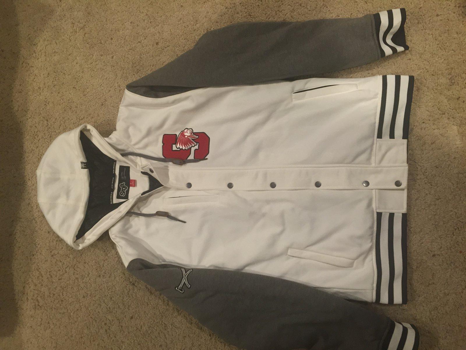 L Saga Insulated Letterman Jacket