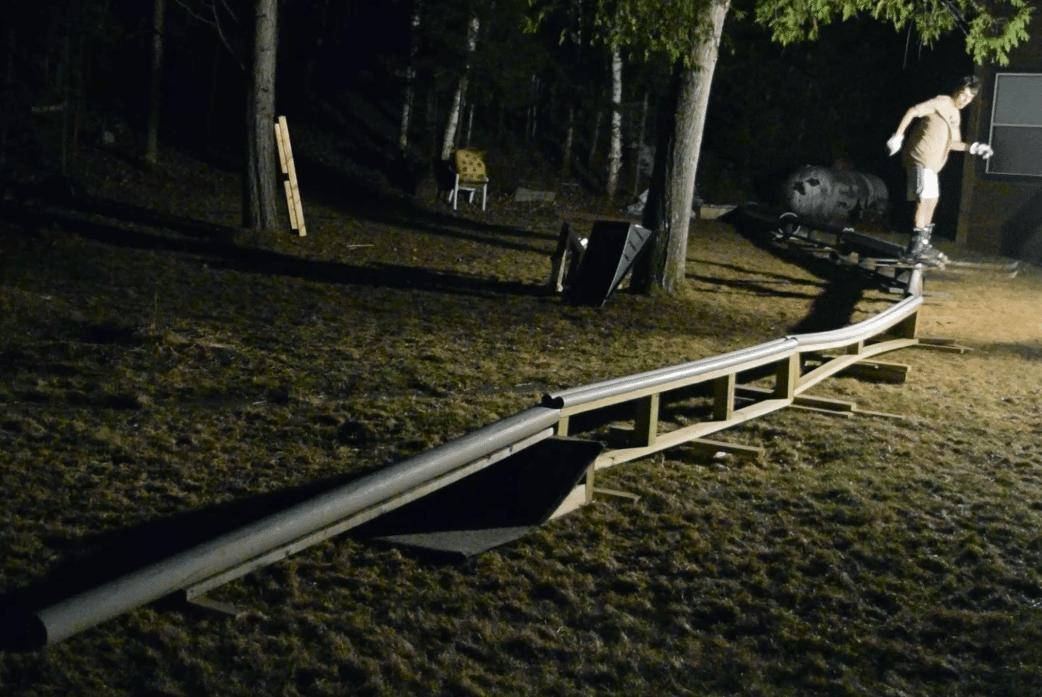 73 Feet of PVC