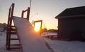 Backyard Competiton. JCK Ski and Snowboard.
