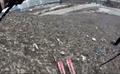 Skiing on Trash