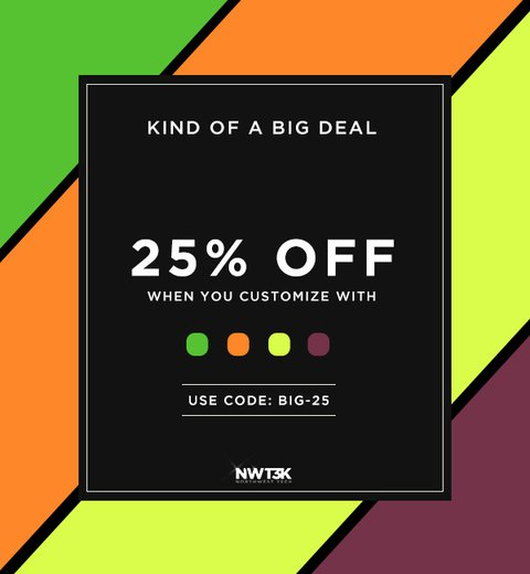 Color closeout sale is on!