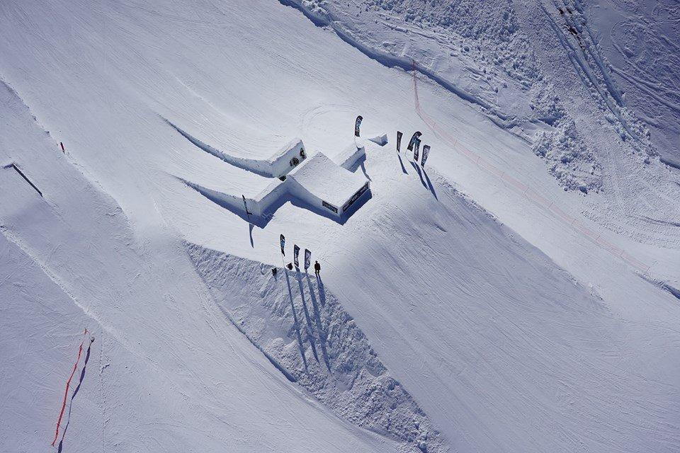 Snowclash 2015 module aerial view