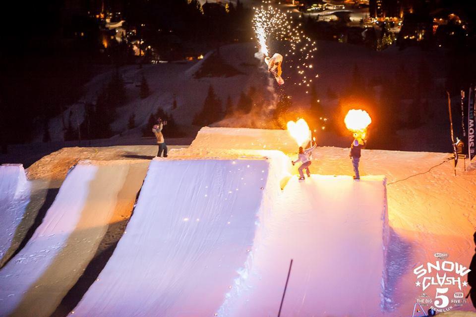 Snowclash 2015 Module fireshow