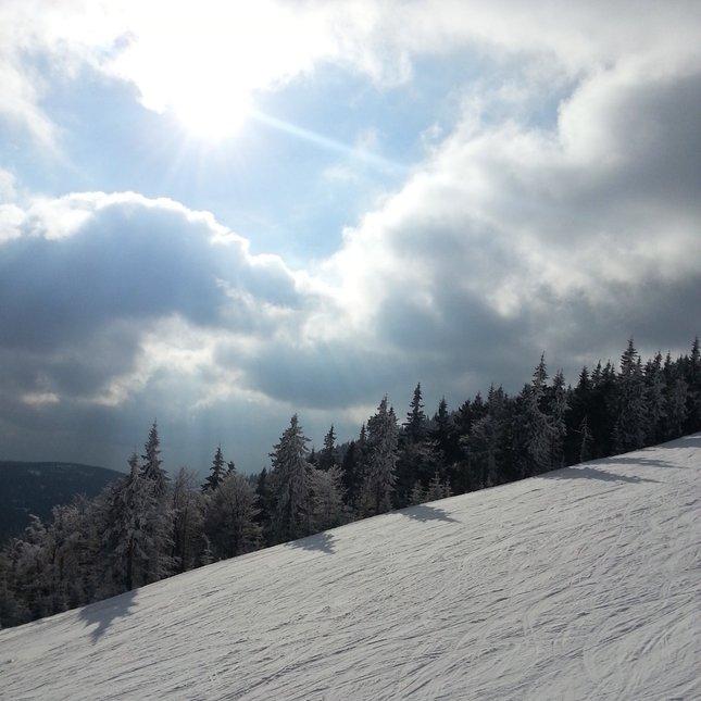 Spring skiing, my favorite photo