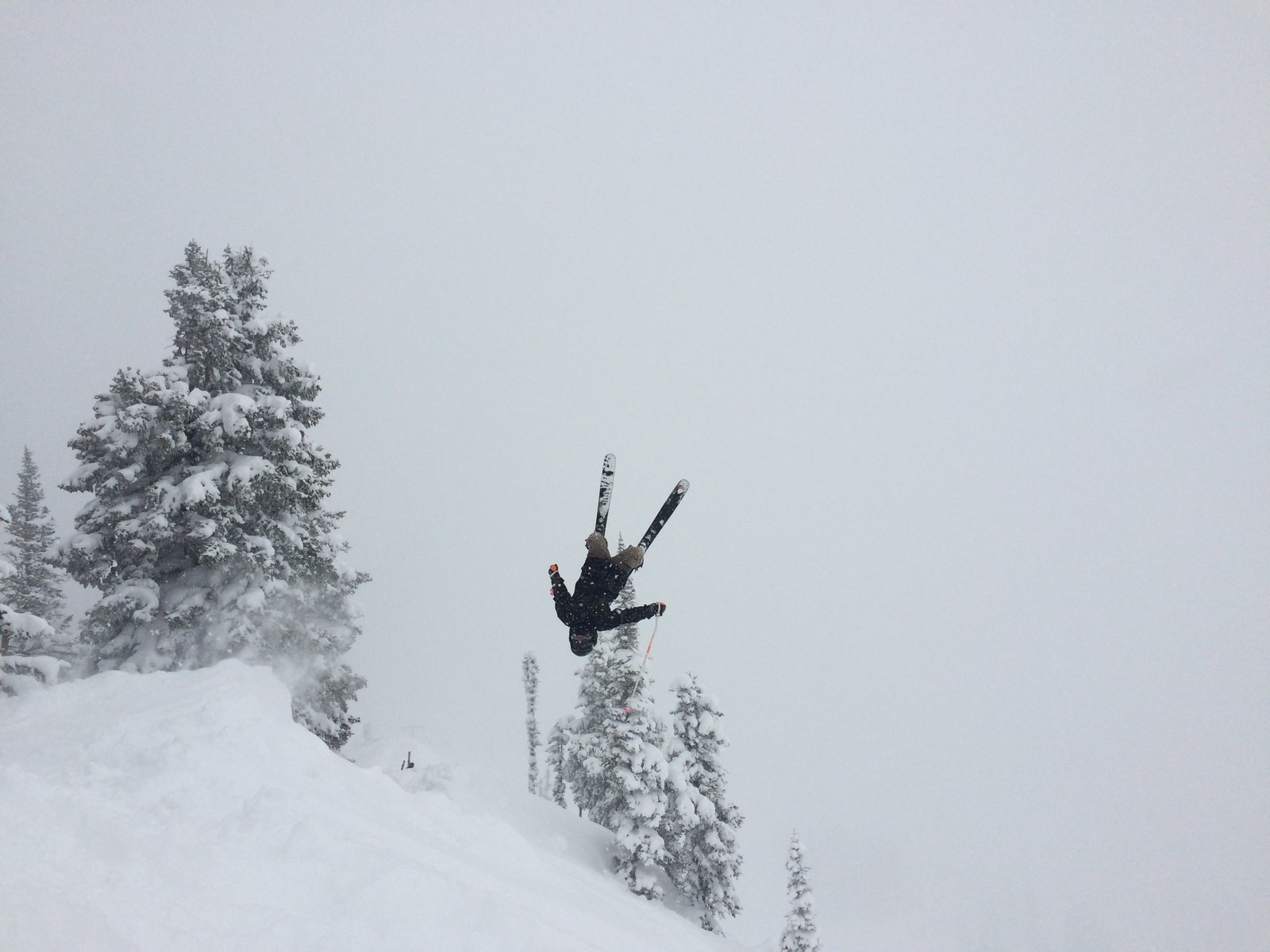 Flippin out at Alta
