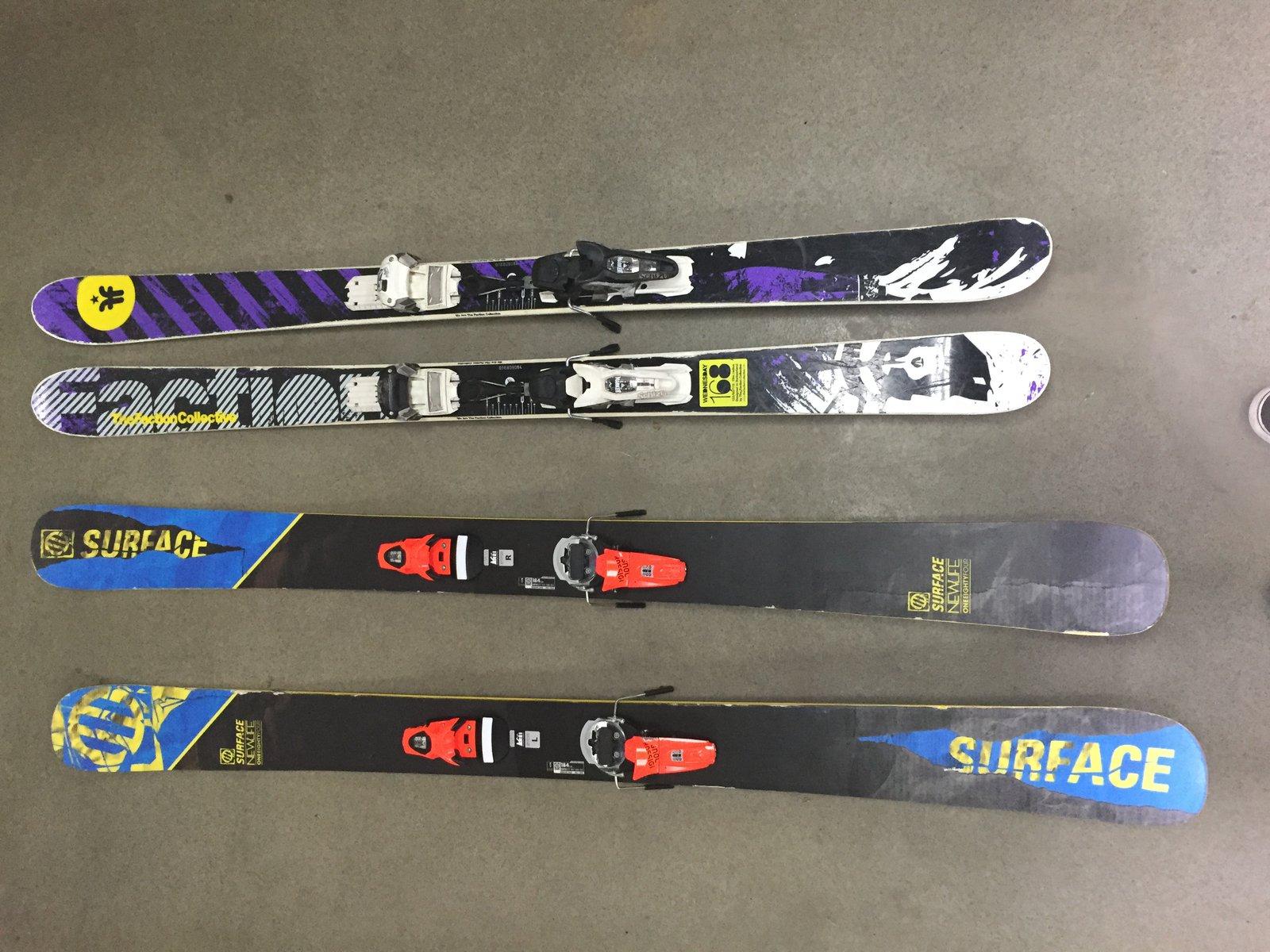 Skis Shot 1