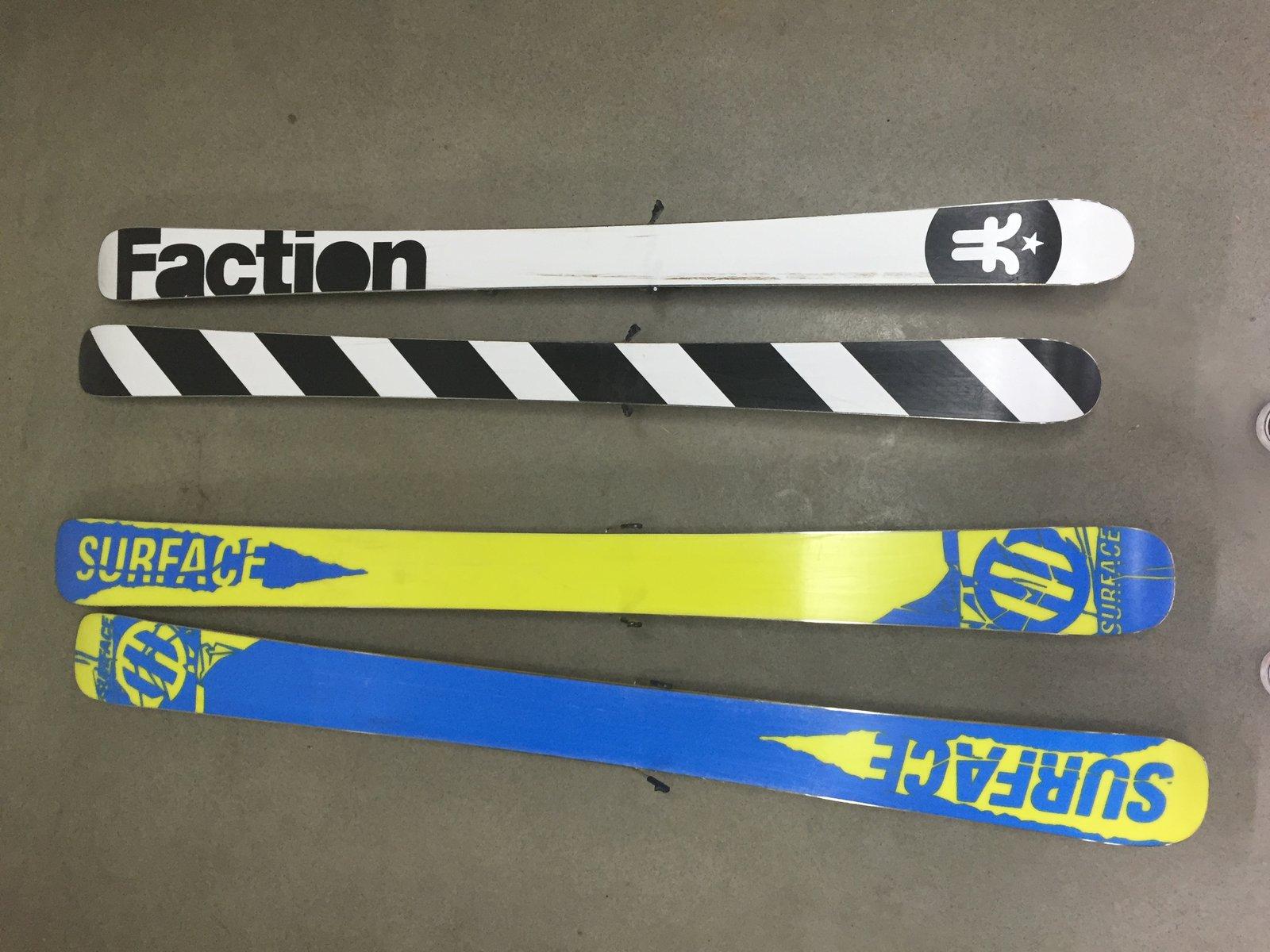 Skis Shot 2