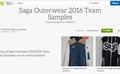 2016 Saga Outerwear Team Sample Sale