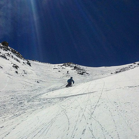 We skied powder on May 30th