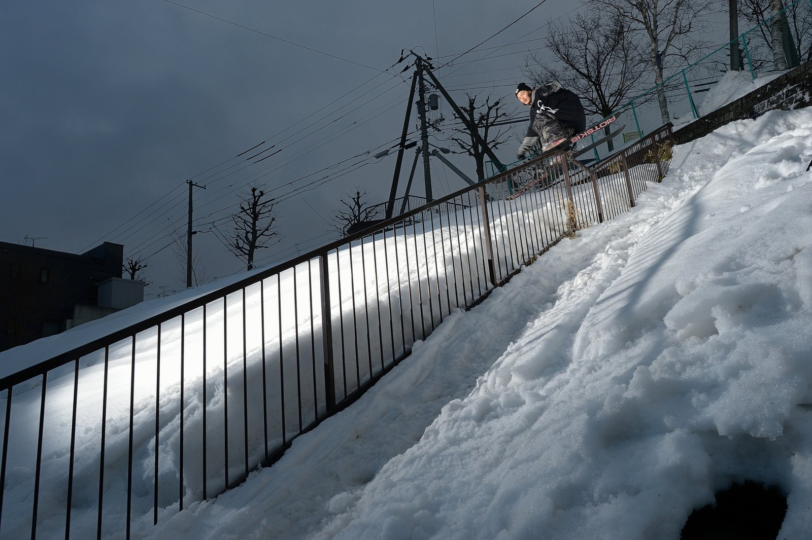 TBS slide on the dub kink rail
