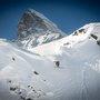 Airing down from the Matterhorn