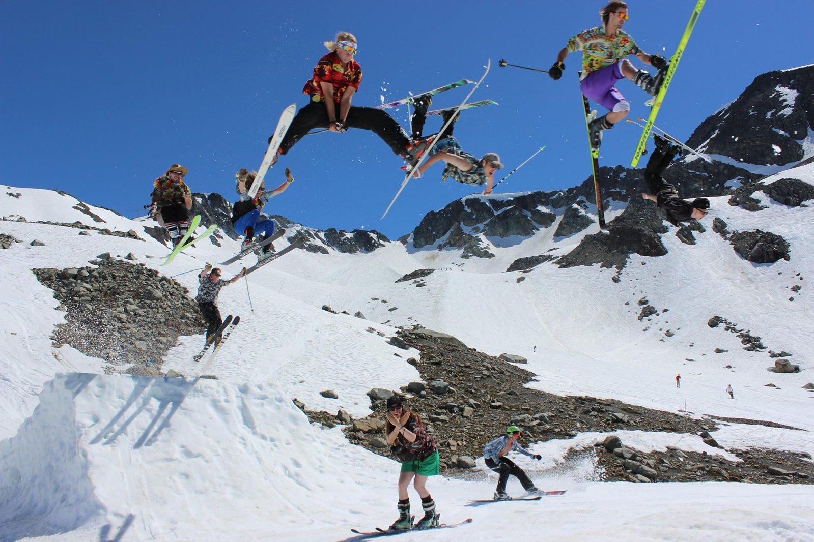 Whistler Gaper Day Madness