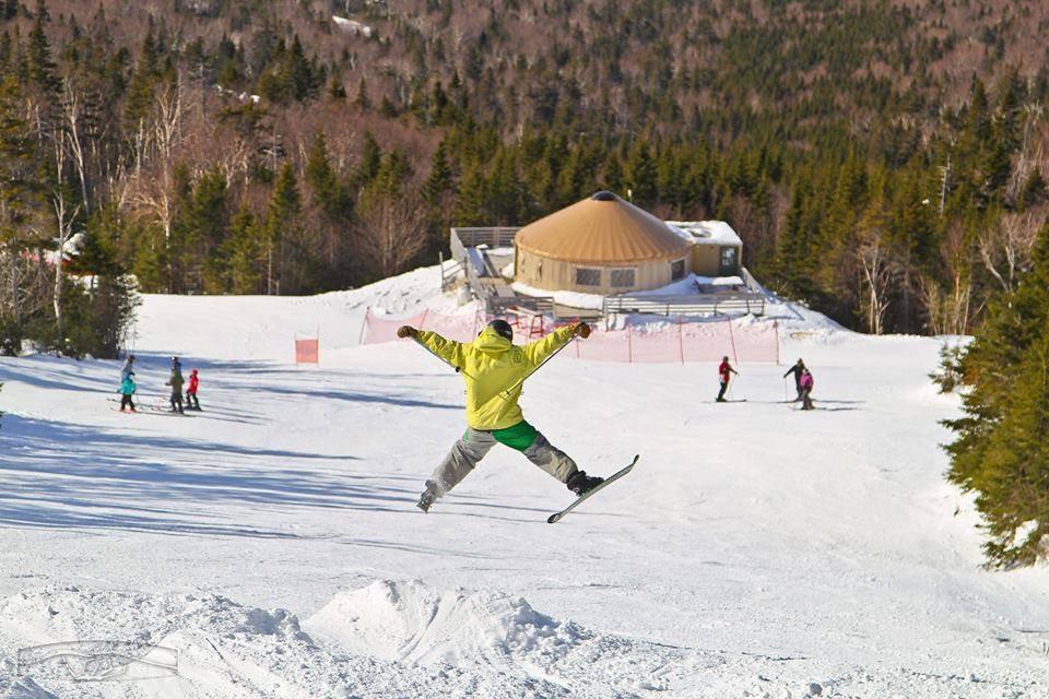 A season as a Maine ski bum