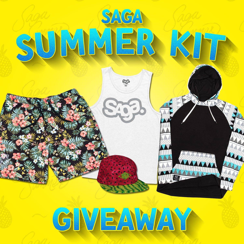 Saga Summer Giveaway