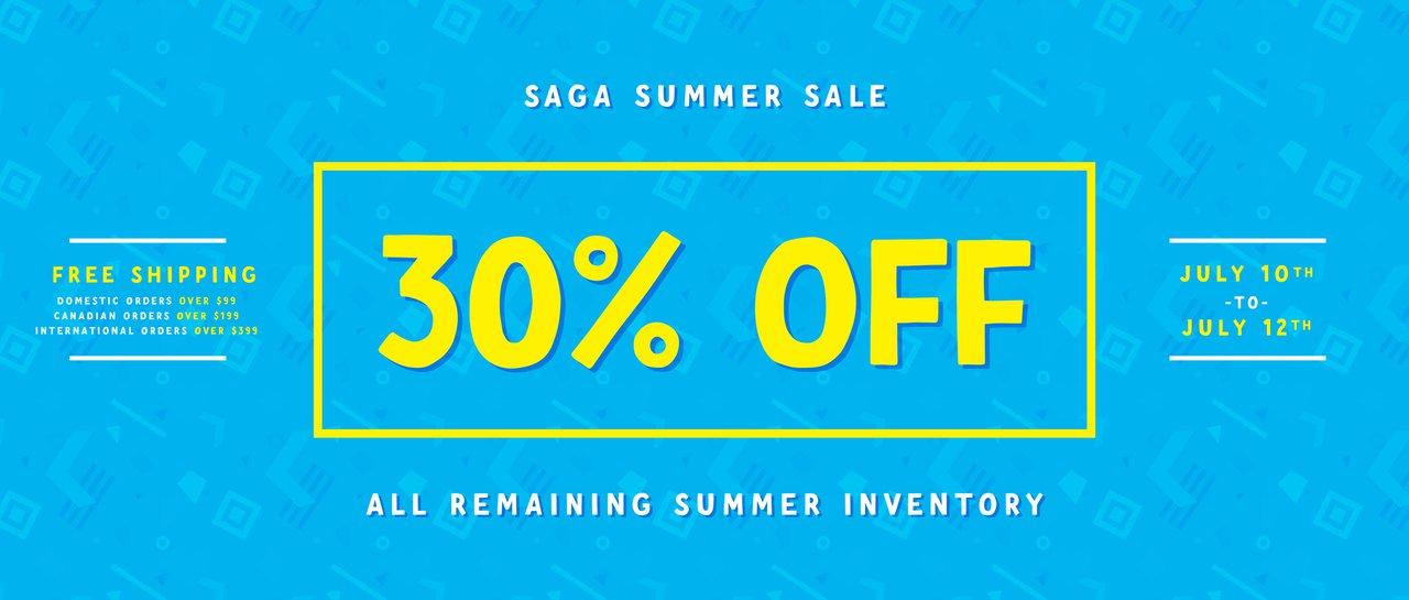 Saga Summer Sale