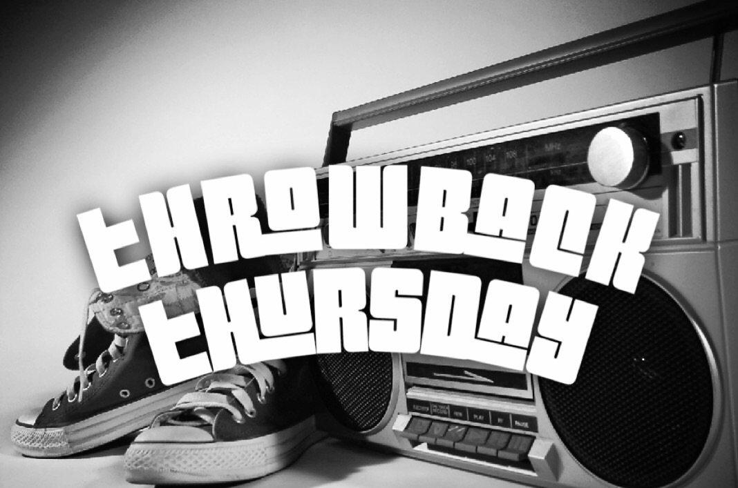 Throwback Thursday 1.0