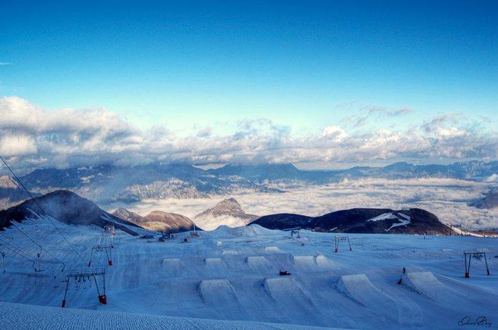 Glacier Les 2 Alpes