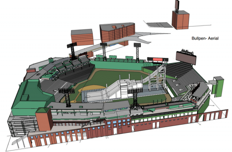 Fenway Park is Hosting a Skiing Big Air Event