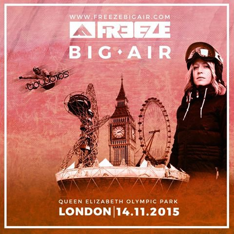 Freeze Big Air returning to London