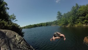 Summer rock/bridge jumping